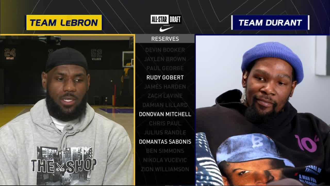 LeBron Drafts Domas